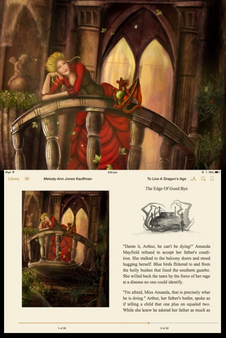 Illustrations for To Live A Dragon's Age by Worlds Beyond Art