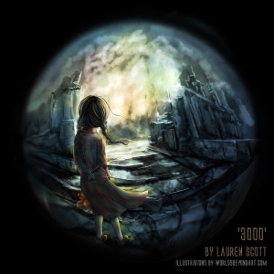 '3000' by Lauren Scott – Cover Art
