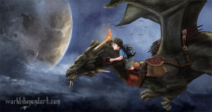 Jesse on a Dragon