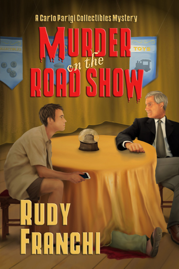 Murder on the Road Show hi-res front cover