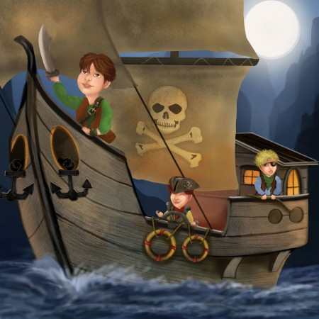 A Pirate Adventure by Sharon Gibbs
