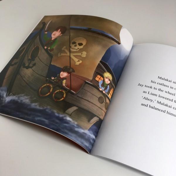 Sharon Gibbs A Pirate Adventure