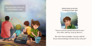 A Fishy Tale - an illustrated children's book | Sharon Gibbs